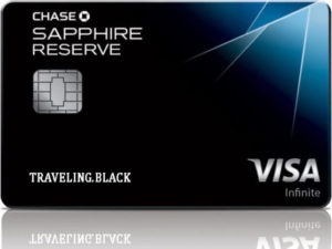 Chase Sapphire Reserve credit card. Great if you love airport lounges!